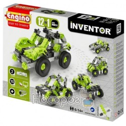 Конструктор Engino Inventor 12 в 1 - Автомобили 1231