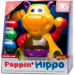 Игрушка - ГИППОПОТАМ-ЖОНГЛЁР (звук) Kiddieland - preschool 049890
