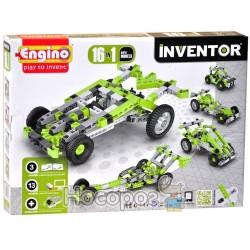 Конструктор Engino Inventor 16 в 1 - Автомобили 1631