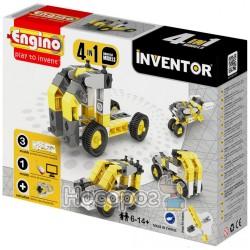 Конструктор Inventor 4 В 1 - Строительная Техника [434]
