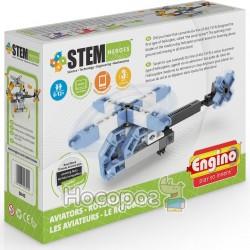 Конструктор Engino серии STEM HEROES - Авиация: вертолет SH43