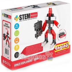 Конструктор Engino серии STEM HEROES - Исследование космоса: Зевс SH22
