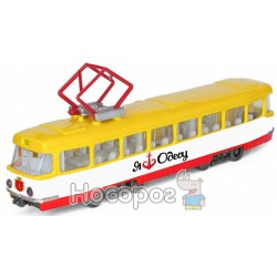 Трамвай Технопарк город Одесса SB-17-16WB-O