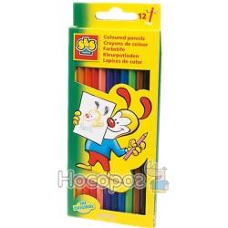 Карандаши цветные Ses Creative 12 цветов 0224S