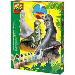 Набор для создания гипсовой фигурки Ses T-Rex 01283S