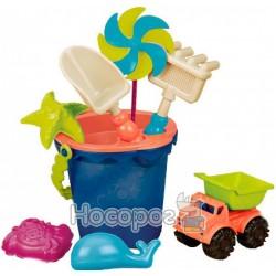 Набор для игры с песком и водой - ВЕДЕРЦЕ МОРЕ