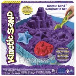 """Набор песка для детского творчества Kinetic Sand """"Замок из песка"""" фиолетовый"""