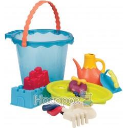 Набор для игры с песком и водой - МЕГА-ВЕДЕРЦЕ МОРЕ (9 предметов) Battat BX1444Z