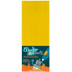 Набір стержнів для 3D-ручки 3Doodler Start 3DS-ECO04-YELLOW-24