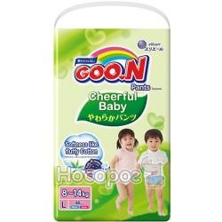Трусики-підгузники для дітей Goo.N Cheerful Baby (8-14 кг) 853460