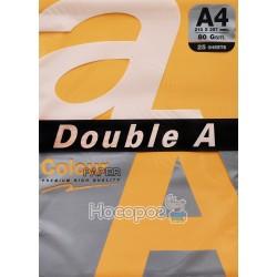 Бумага офисная цветная Double A А4 морковный Р25