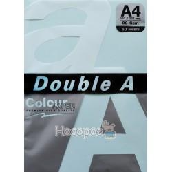 Бумага офисная цветная Double A А4 голубой Р50