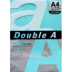 Бумага офисная цветная Double A А4 бирюзовый Р50