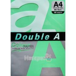 Бумага офисная цветная Double A А4 ассорти 100 л.