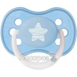 Пустышка силиконовая симметричная 6-18 Canpol Babies Pastelove 22/417