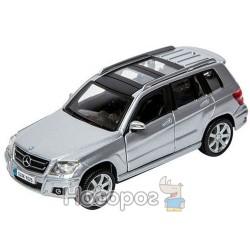 Автомодель Bburago Mercedes Benz GLK-Class (красный, серебристый, 1:32)