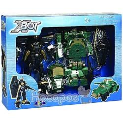 """Игровой набор X-Bot """"Робот-трансформер, танк и воин"""""""