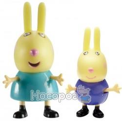 Набір фігурок Peppa - ПЕППА ТА ЇЇ ДРУЗІ (Річард та Ребекка)