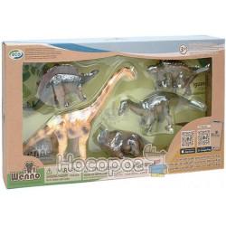 Учебный игровой набор Wenno с QR-картой Травоядные динозаврыНІ ДИНОЗАВРИ