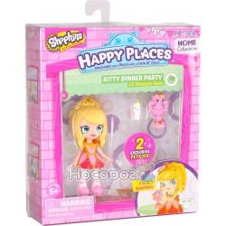 Лялька HAPPY PLACES S1 - ТІАРА СПАРКЛЗ (2 ексклюзивних петкінси)