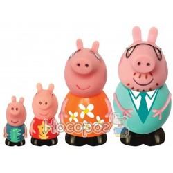 Набір іграшок-бризкунчиків Peppa - РОДИНА ПЕППИ (4 фігурки)