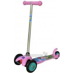 Скутер дитячий ліцензійний - PEPPA (3-колісний, 2 колеса попереду, гальмо)