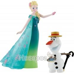 Набор фигурок Bullyland Холодное сердце Disney Эльза в летнем и Олаф (12087)