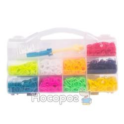 Набор резинок для плетения в пласт.коробке с ручкой