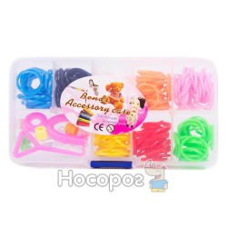 Набор резинок для плетения на 8 цветов
