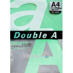 Папір офісна кольорова Double A А4 темно-зелений Р50