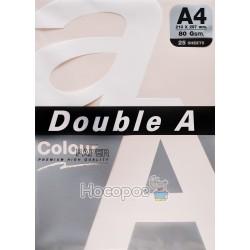 Бумага ксероксная цветная Double A А4 розовый Р25