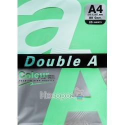 Бумага ксероксная цветная Double A А4 темно-зеленая Р25