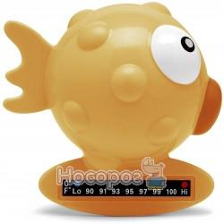 Игрушка-термометр для измерения температуры воды в ванне Chicco Рыбка желтая