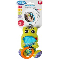 "Дрожащая игрушка-подвеска Playgro ""Лягушка"" 0185473"