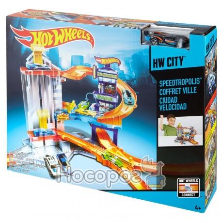 Паркинг Mattel - Hot Wheels с подъемами CDL36 WB4