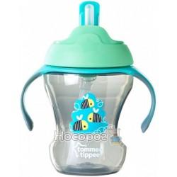 Чашка-непроливайка с трубочкой Tommee Tippee 44701587