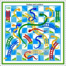 Игра настольная 00823 Змеи и Лестницы Trefl