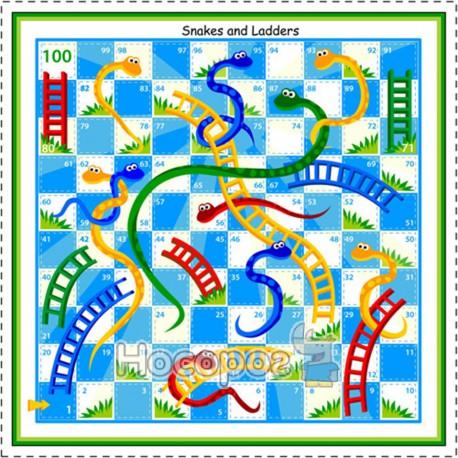 Игра настольная 00823 Змеи и Лестницы Trefl (28-28-6см) (8)