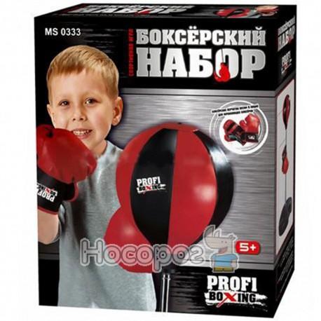 Боксерский набор MS 0331 груша на стойке, перчатки (12)