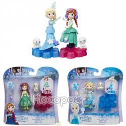 Маленькая кукла Hasbro Холодное Сердце на платформе-снежинке