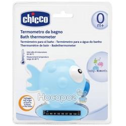"""Игрушка-термометр для измерения температуры воды в ванне Chicco """"Рыбка"""" голубая"""