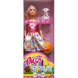 Кукла Ася с аксессуарами 35058