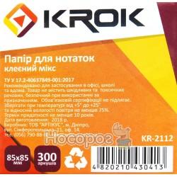 Блок бумаги для заметок Krok KR-2112