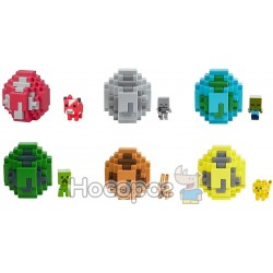 Яйцо призвание мини-фигуркой моба Minecraft MATTEL