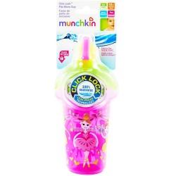"""Бутылка непроливна Munchkin """"Flip Straw"""" 2900990721009"""