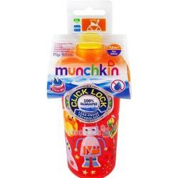 """Бутылка непроливна Munchkin """"Flip Straw"""" 2900990721016"""