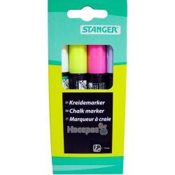 Набор меловых маркеров Stanger 620075