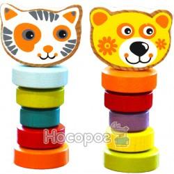 """Набор деревянных игрушек Levenya """"Гибкие животные"""" 13661"""