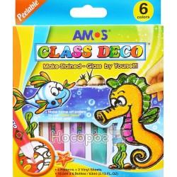 """Набір для дитячої творчості Amos Glass Deco """"Море"""" GD10P6"""