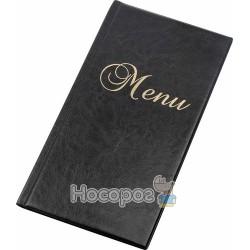 Папка меню PANTA PLAST виниловая черная 0309-0016-01